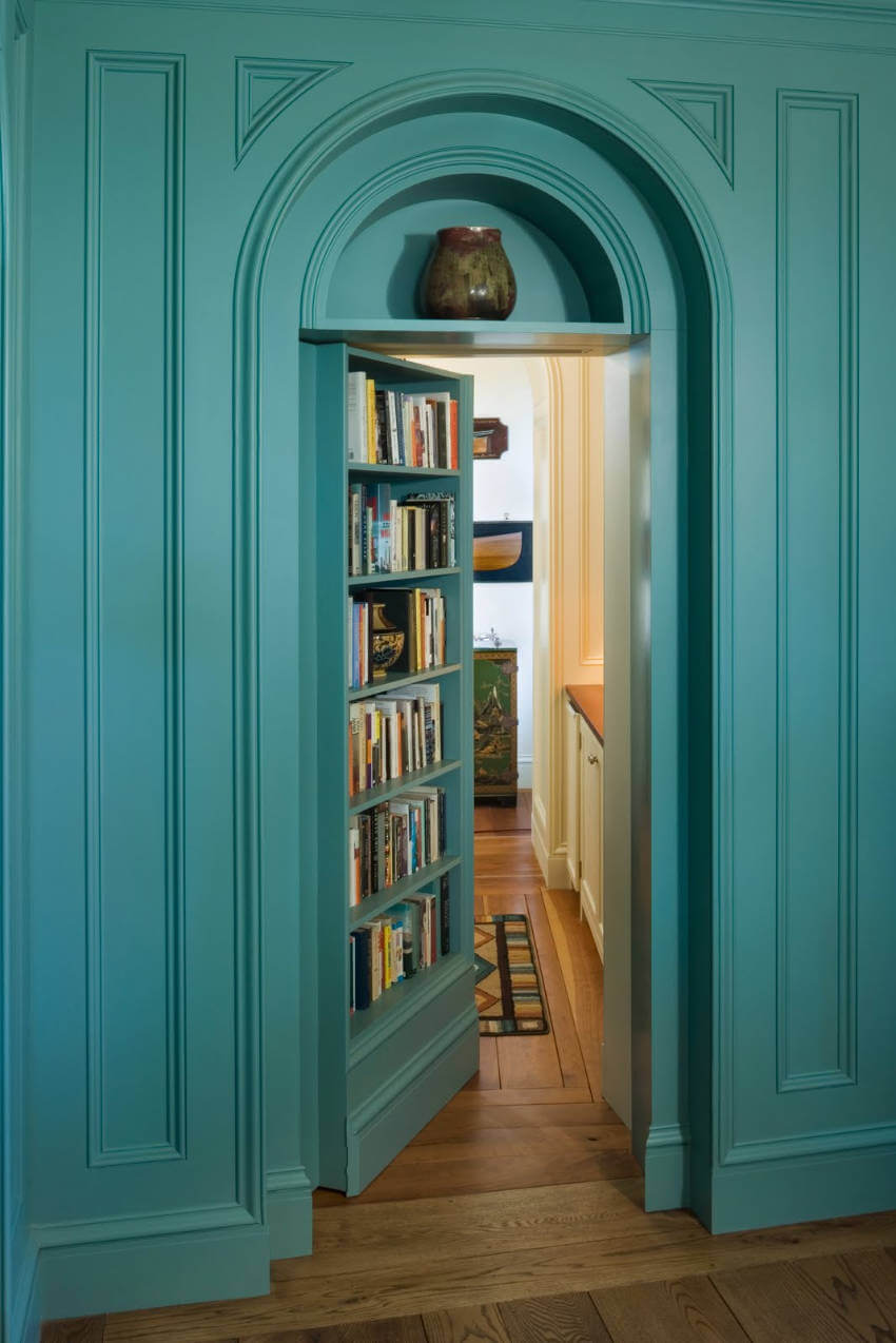 Bookcase Secret Room