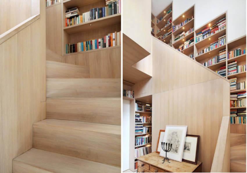 Stairs Bookshelves