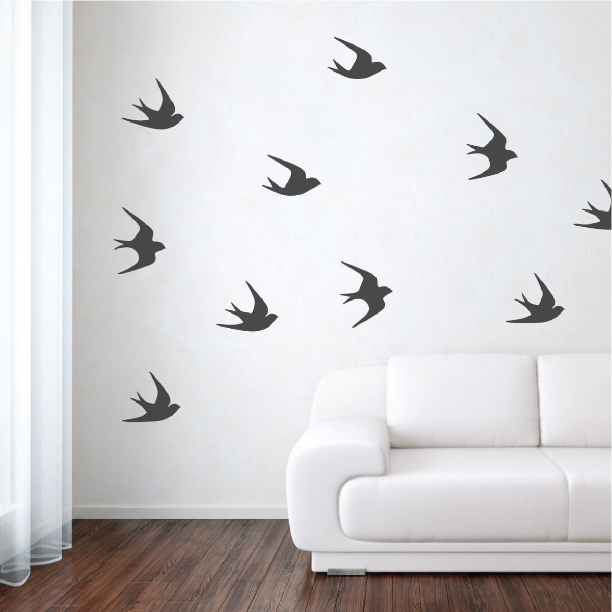 Black and white living room flock. Source https://wallsneedlove.com/collections/design-packs