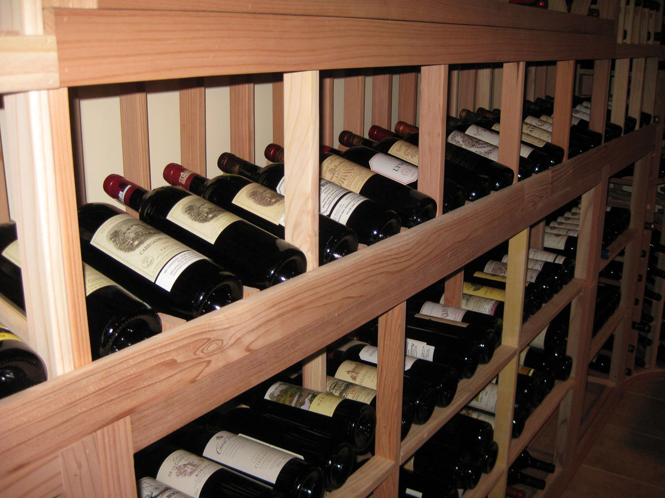 Build your own wine cellar in time for valentine 39 s day for Build a wine cellar